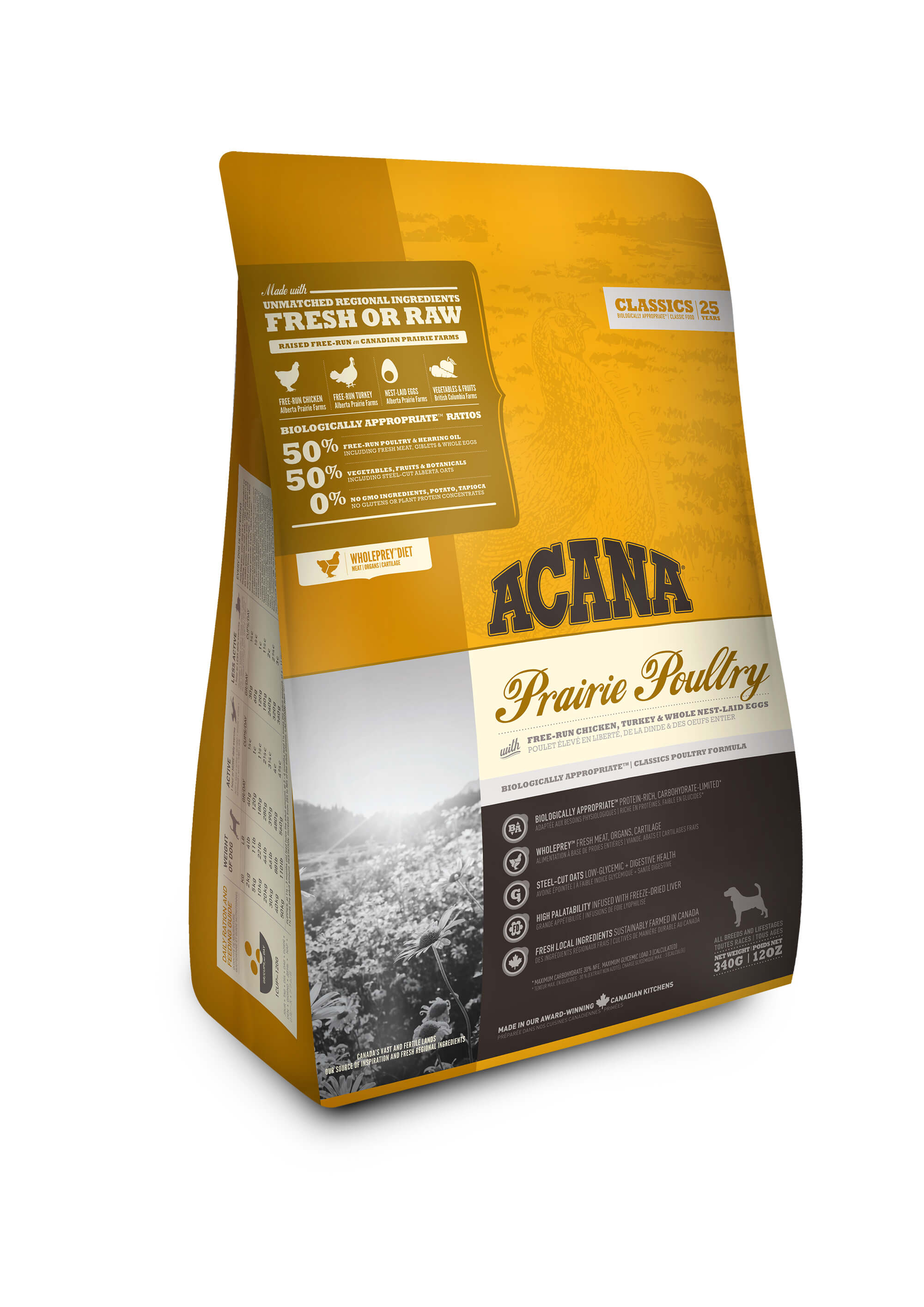 Acana Classic Prairie Poultry Dog Food The Pet Project